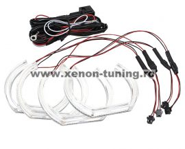 Kit Angel Eyes SMD DTM pentru BMW F30, F36 (BMW Seria 3 2011+; Seria 4 2013+)