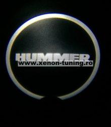 Proiectoare Portiere cu Logo Hummer