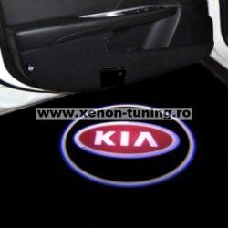 Proiectoare Portiere cu Logo KIA - BTLW069
