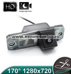 Camera marsarier HD, unghi 170 grade cu StarLight Night Vision pentru KIA CEED, Sportage, Sorento, Carens - FA964