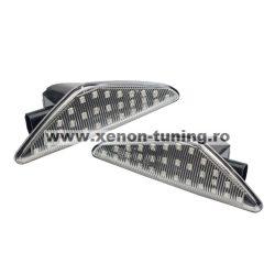Set 2 Semnalizari Aripa LED clare pentru X3 F25, X5 E70, X6 E71 - BTLL-242S